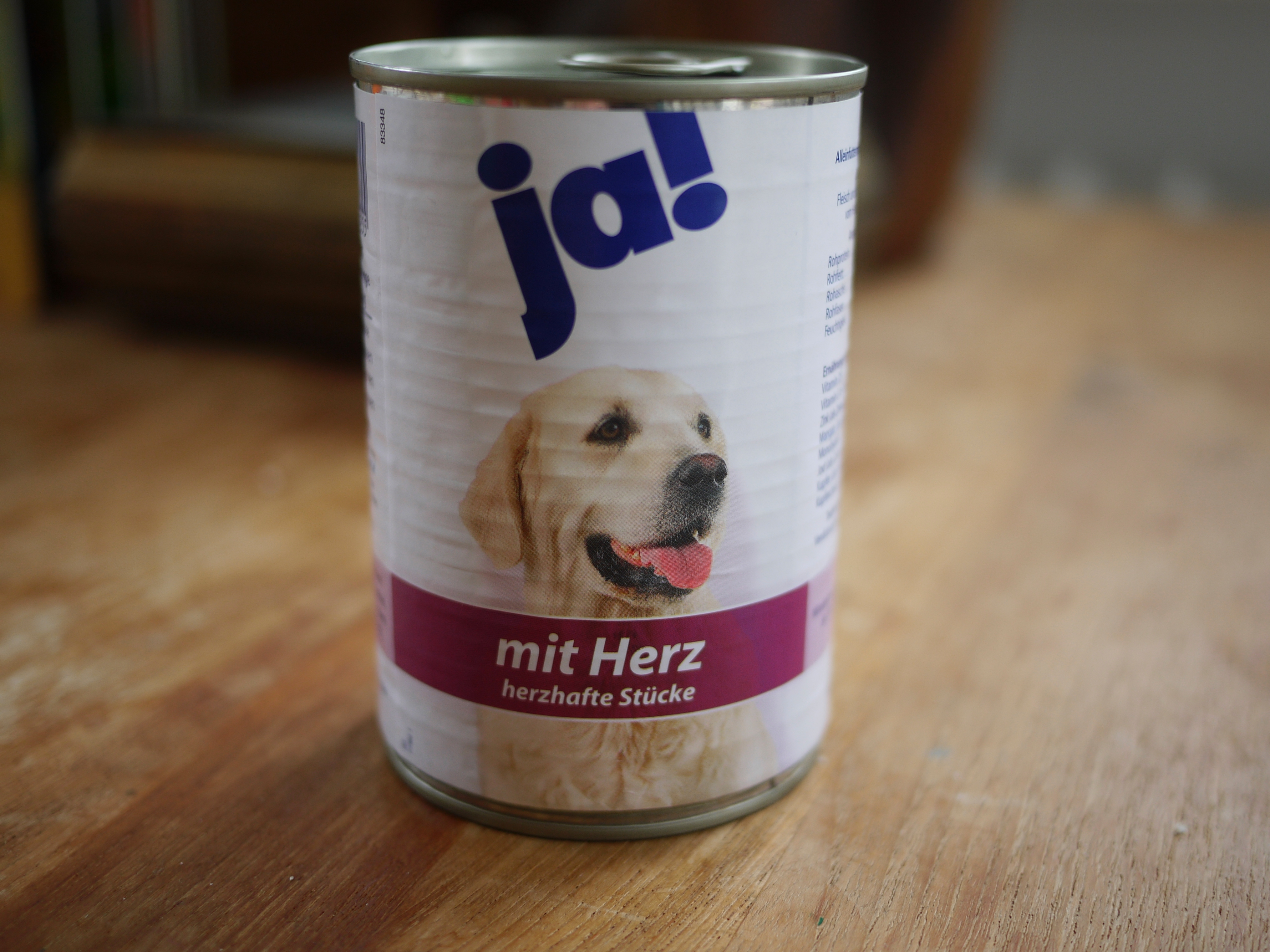 Dog Food with Heart
