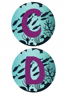 Under the Sea Printable Banner Letters